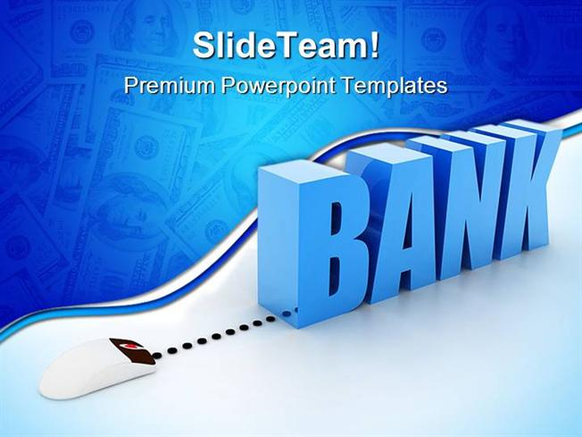 Internet banking technology powerpoint templates and powerpoint ba presentation description toneelgroepblik Gallery