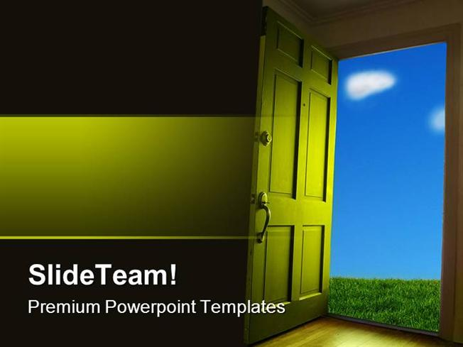Open House Powerpoint Template