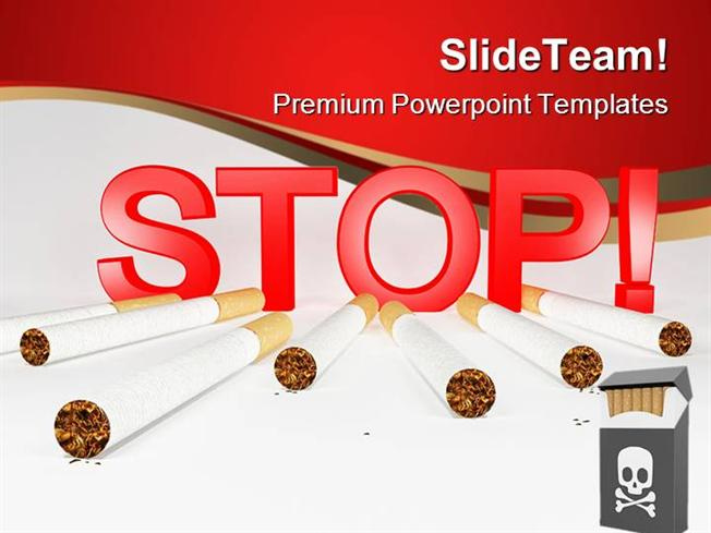 Stop smoking health powerpoint templates and powerpoint background stop smoking health powerpoint templates and powerpoint background authorstream maxwellsz