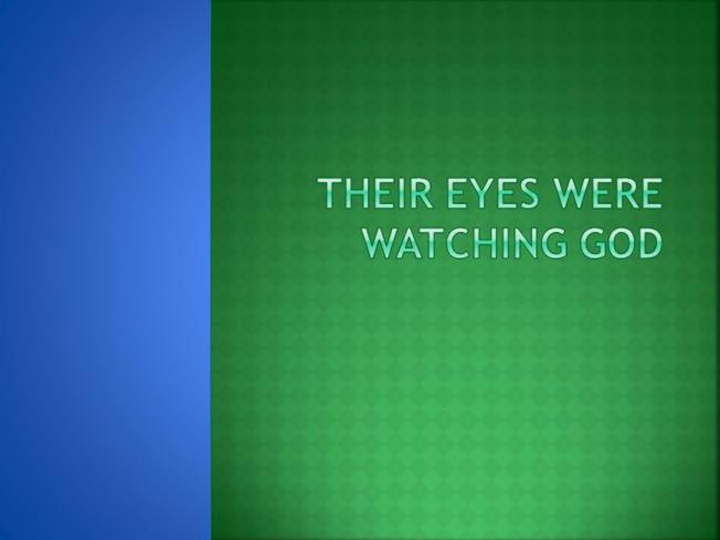 their eyes were watching god analyzed At a glance their eyes were watching god is the classic story of janie crawford's search for true love janie is a romantic at heart, and her ideals often conflict with those of logan and joe.
