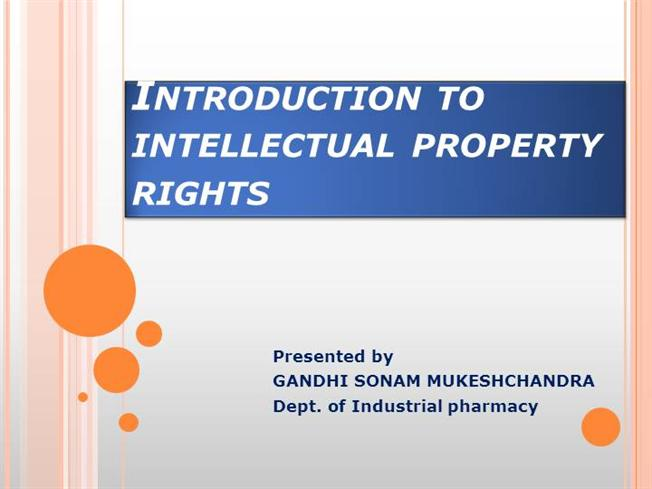 thesis on intellectual property