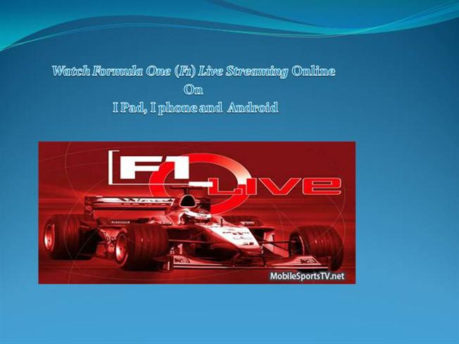 watch formula one f1 live streaming online tv on ipad. Black Bedroom Furniture Sets. Home Design Ideas