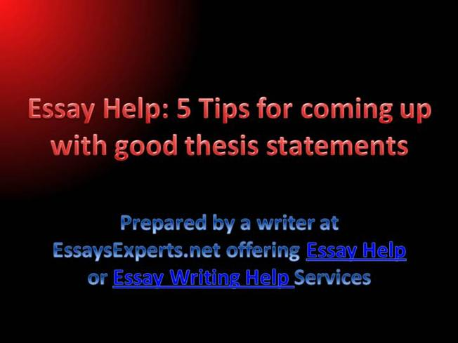 coming up with a good thesis How to choose a thesis topic and then refine good ideas, eliminate bad ones skip to primary navigation it's up to you to find out how it.