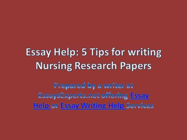 Help on research paper structure ppt