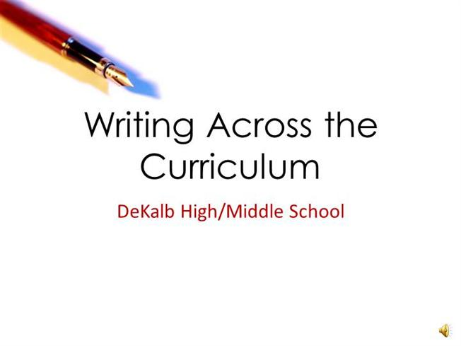 Essay Writing Curriculum
