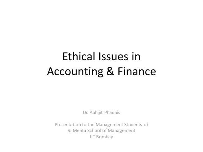 ethical issues in accounting 14062018  greenwashing is a tool which a lot of major companies use to make them appear that they take responsibility for environmental issues, but.