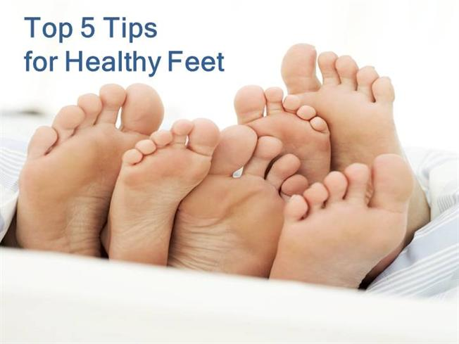 top five tips for healthy feet authorstream. Black Bedroom Furniture Sets. Home Design Ideas