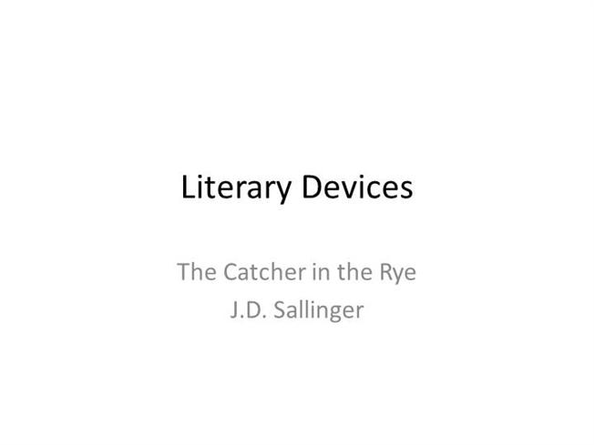 "anthonlogy j d sallinger To find out more about j d salinger and ""the catcher in the rye"" visit: an extract from it can be found in the anthology."