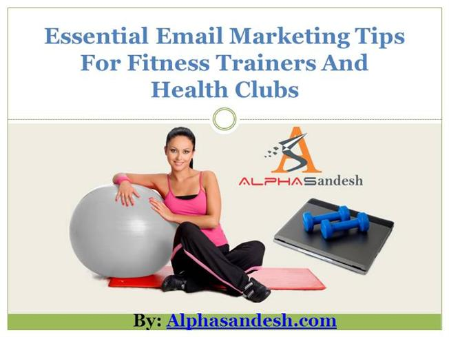 fitness and health marketing plan