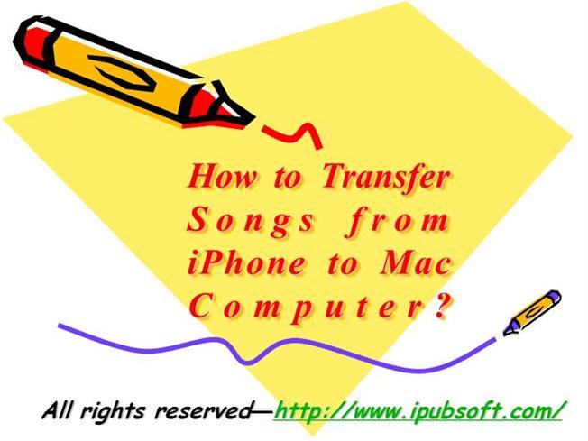 how to put songs to iphone from computer