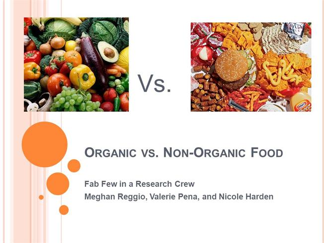 organic food vs non organic 02052016  a recent stanford study was published showing that there is not much of a difference in the nutritional content between organic vs non organic food.