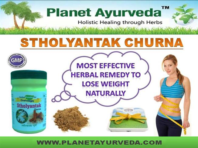 Stholyantank Churna - Effective Weight Loss Herbal Remedy Ppt Pres.