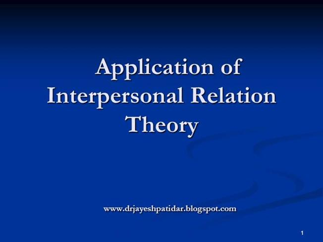 sullivans interpersonal theory 1 mark j blechner, phd the gay harry stack sullivan interactions between his life, clinical work, and theory abstract: harry stack sullivan, the founder of interpersonal psychoanalysis, was.