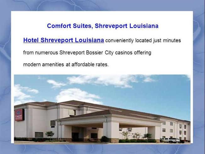 Comfort Suites Shreveport Louisiana Authorstream