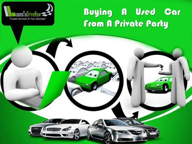 Used Car Loans Private Party