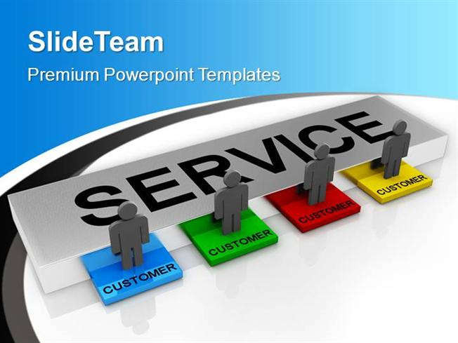 Customer Service Powerpoint Templates
