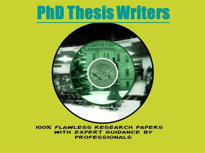 Phd Thesis Write