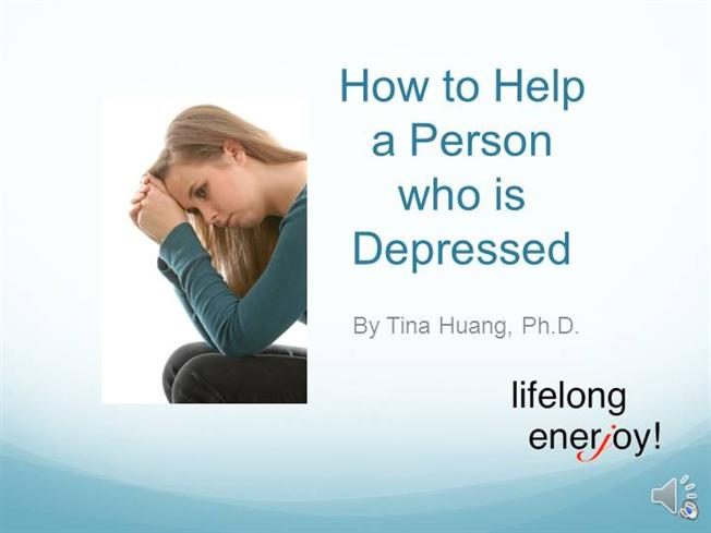 Help me with depression