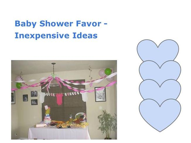 baby shower favor inexpensive ideas authorstream