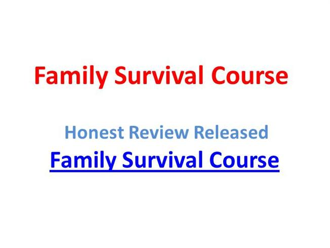 family survival course jason richards pdf