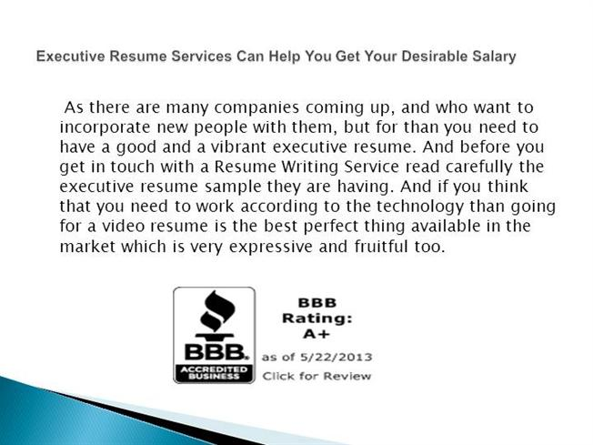Bbb Accredited Resume Writing Service ...