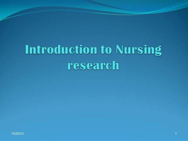 introduction to nursing research 34391 01 001-025 r1 bl 1/31/07 3:51 pm page 1 part i introduction to nursing research 2 34391 01 001-025 r0 bl 1/17/07 11:32 am page 2.