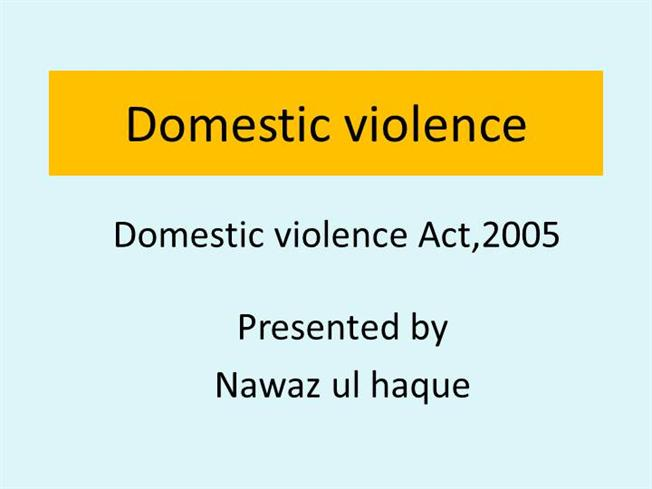 essay on domestic violence act 2005 The violence against woman act was passed in 1994 by that domestic violence is observed at a young domestic violence and it's impact domestic.