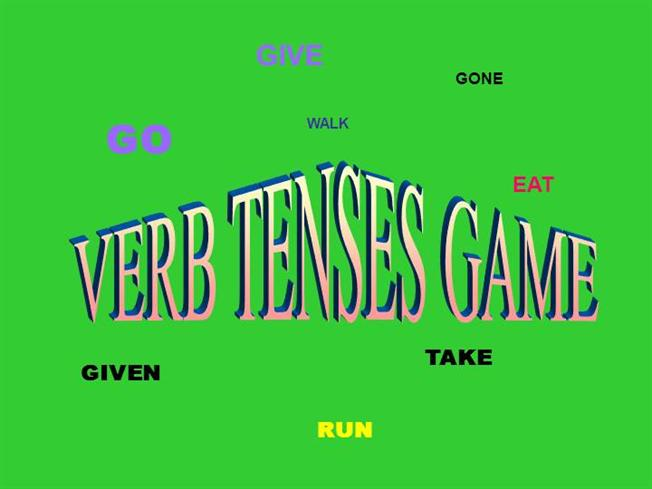 free powerpoint presentation on tenses