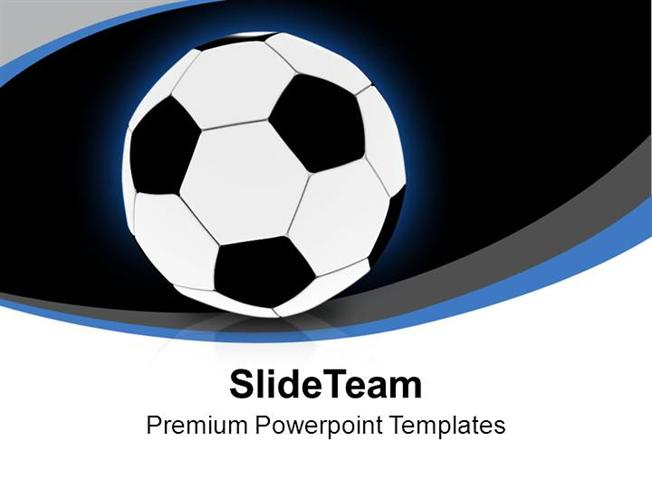 football for game theme powerpoint templates ppt themes and graphi authorstream. Black Bedroom Furniture Sets. Home Design Ideas