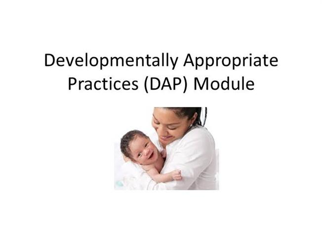 a detailed description of developmentally appropriate practice The child care aware® website helps child care providers learn about starting and running a successful program and where to find resources along the way.