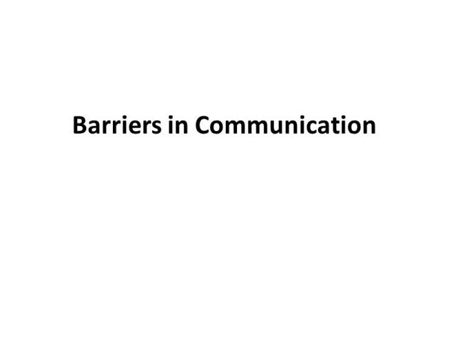 body language in communication barriers Research shows that 55 percent of communication comes from body language learn how crossed arms and legs are physical barriers that suggest the other person is.