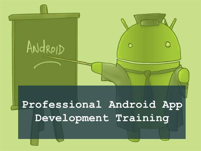 Learn android development ppt background