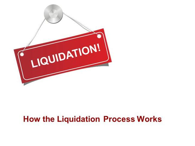 liquidation the procedure Liquidation is a process through which a company which is running is shut down  and its existence comes to an end this often happens when.