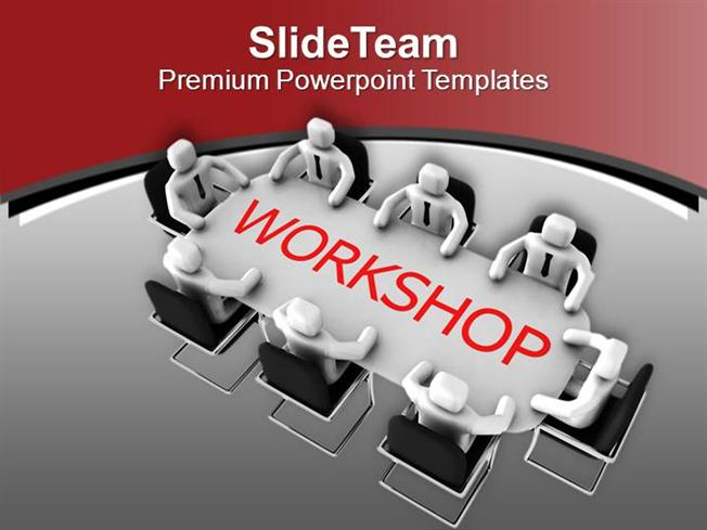 organize workshop for employees powerpoint templates ppt