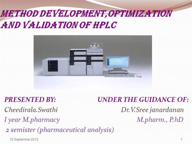 phd thesis on hplc method development and validation