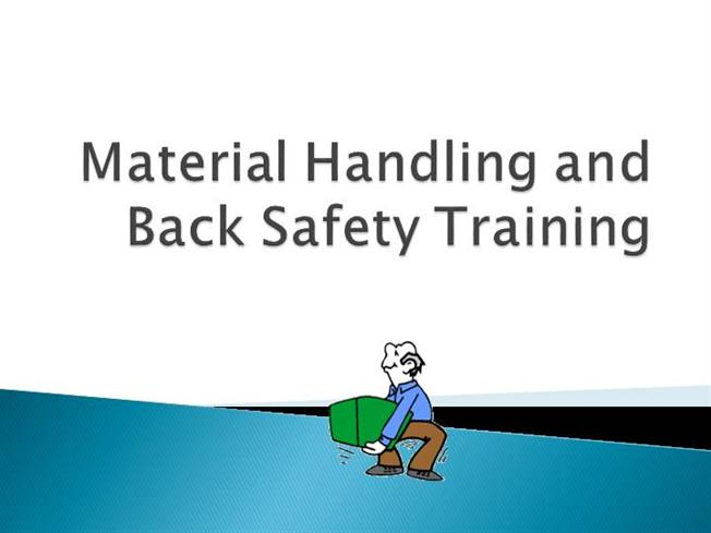 back safety materials handling and lifting Employees who experience back-related workers' compensation injuries shall receive re-training on proper lifting techniques and alternative materials handling equipment record keeping [back safety/proper lifting safety program administrator] is responsible for maintaining the training records of this facility.