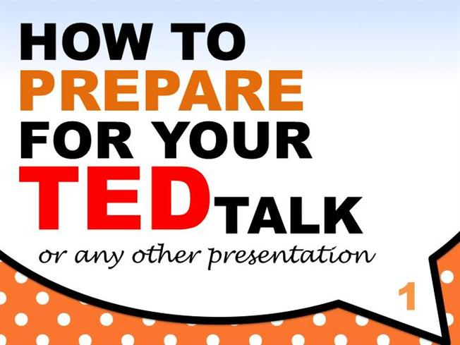 how to prepare for your ted talk authorstream. Black Bedroom Furniture Sets. Home Design Ideas