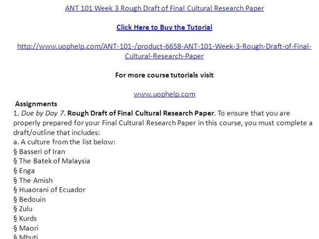 How to write a rough outline for an essay