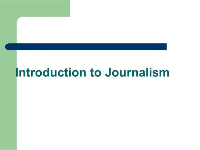 journalism introduction Introduction in the past 15 years or so, journalism research has paid much attention to how digitisation is changing journalistic practices, cultures and institutions.