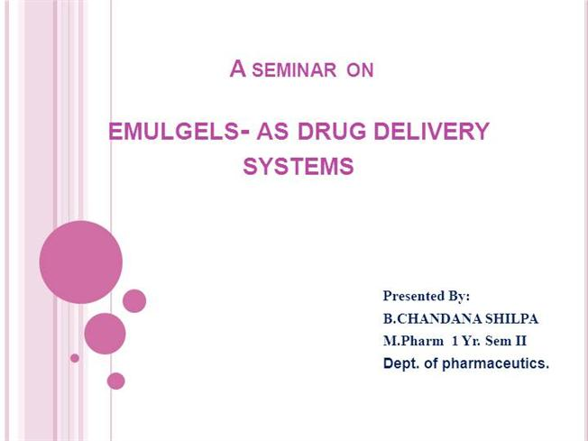 customized drug delivery system pdf