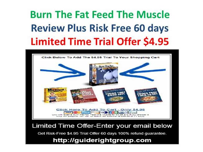 Burn the Fat - Feed the Muscle Free Tools