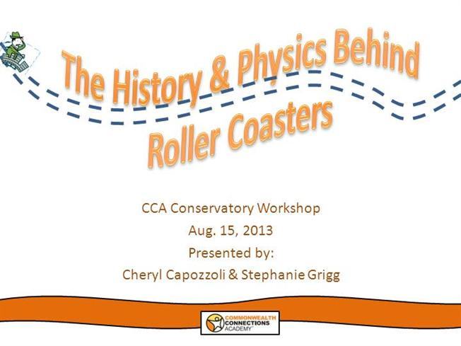 "the physics behind roller coasters Transcript of the physics behind a rollercoaster with ""launching"" coasters."
