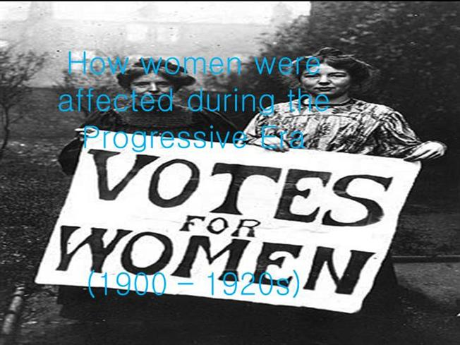 women during the progressive era essays And kyle naples women's suffrage in the progressive era the progressive era women's women vs men pay gap-during the progressive era women established a.