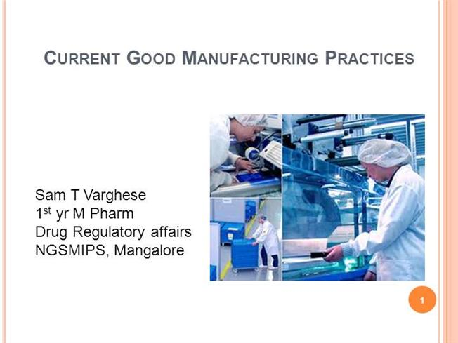 Good Manufacturing Practices, Comparisson Between USGMP