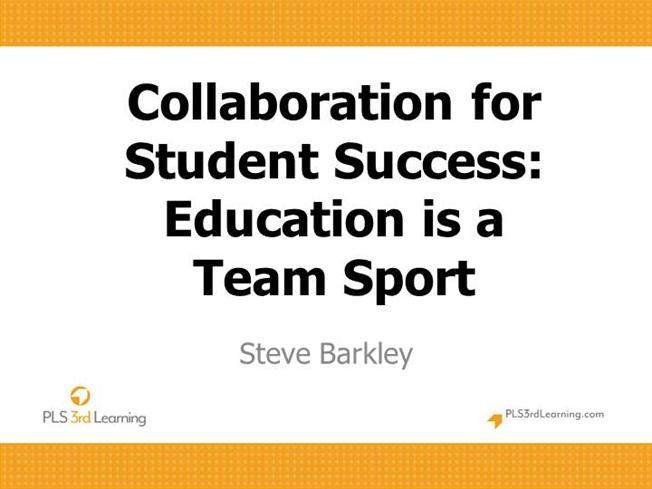 Collaborative For Student Success ~ Collaboration for student success education is a team