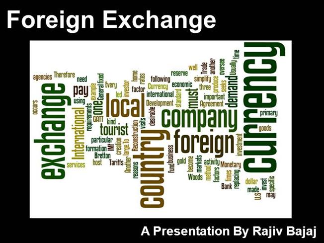 Forex currency exchange india