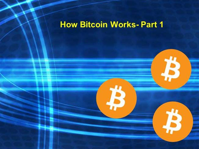how bitcoin works part 1 authorstream. Black Bedroom Furniture Sets. Home Design Ideas