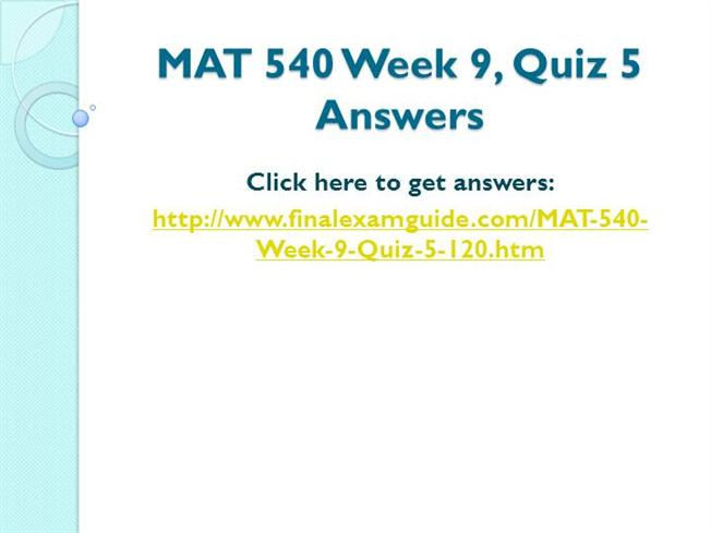 mat 540 quiz 5 Question 1 if exactly 3 projects are to be selected from a set of 5 projects, this would be written as 3 separate constraints in an integer program answer true.
