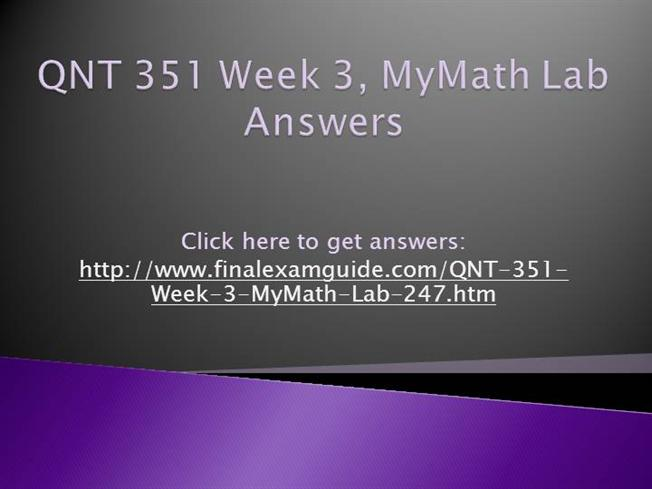 qnt 351 week 2 lab Qnt 351 week 3, mystat lab qnt 351 week 3, mystat lab download answers week 3 problems 1 an industrial group reports that june 12.