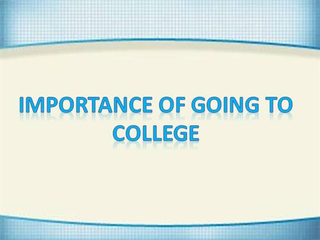 the importance of attending college What is college for the manifest & latent  the difference between manifest and latent functions of college  other while attending college,.